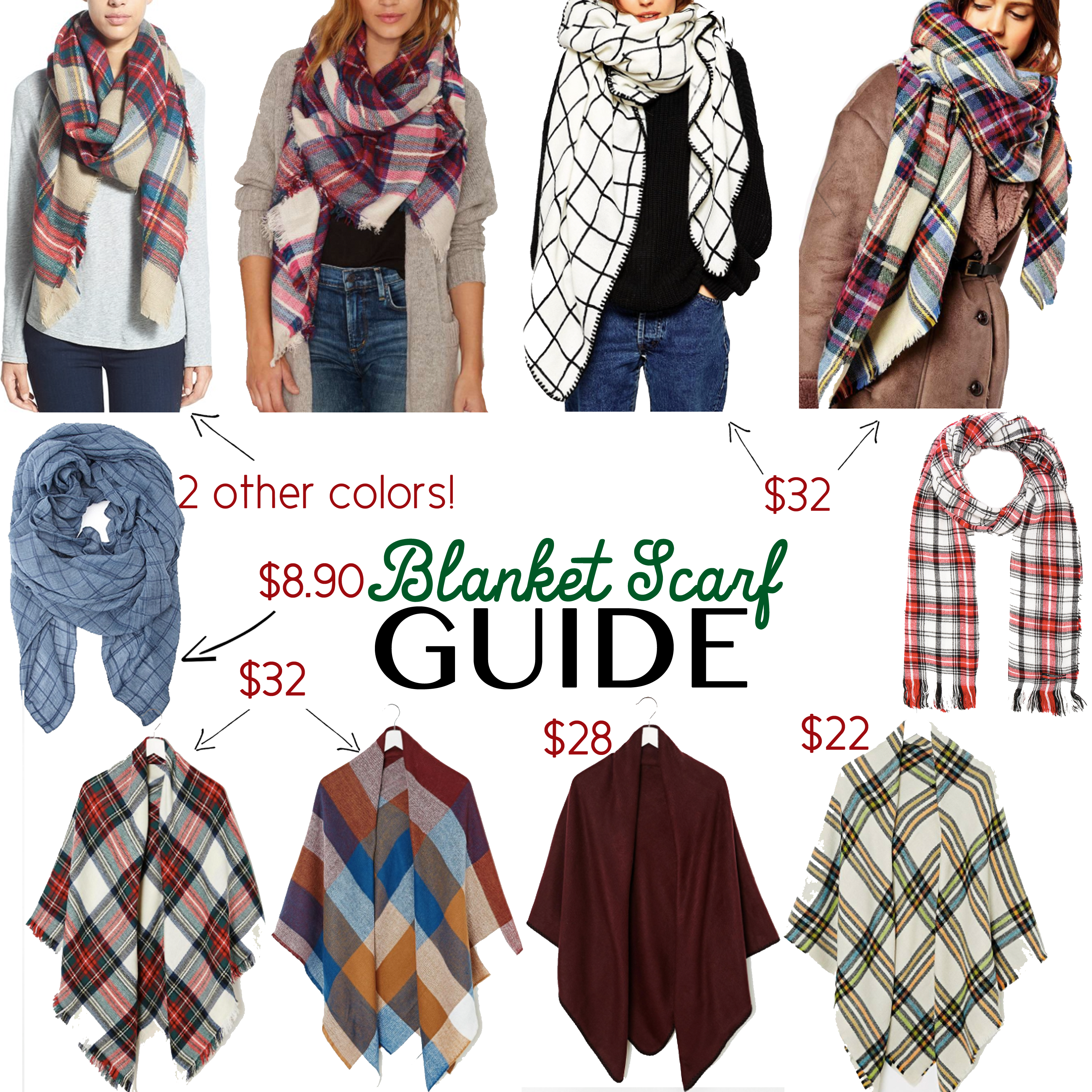 Blanket Scarf Guide