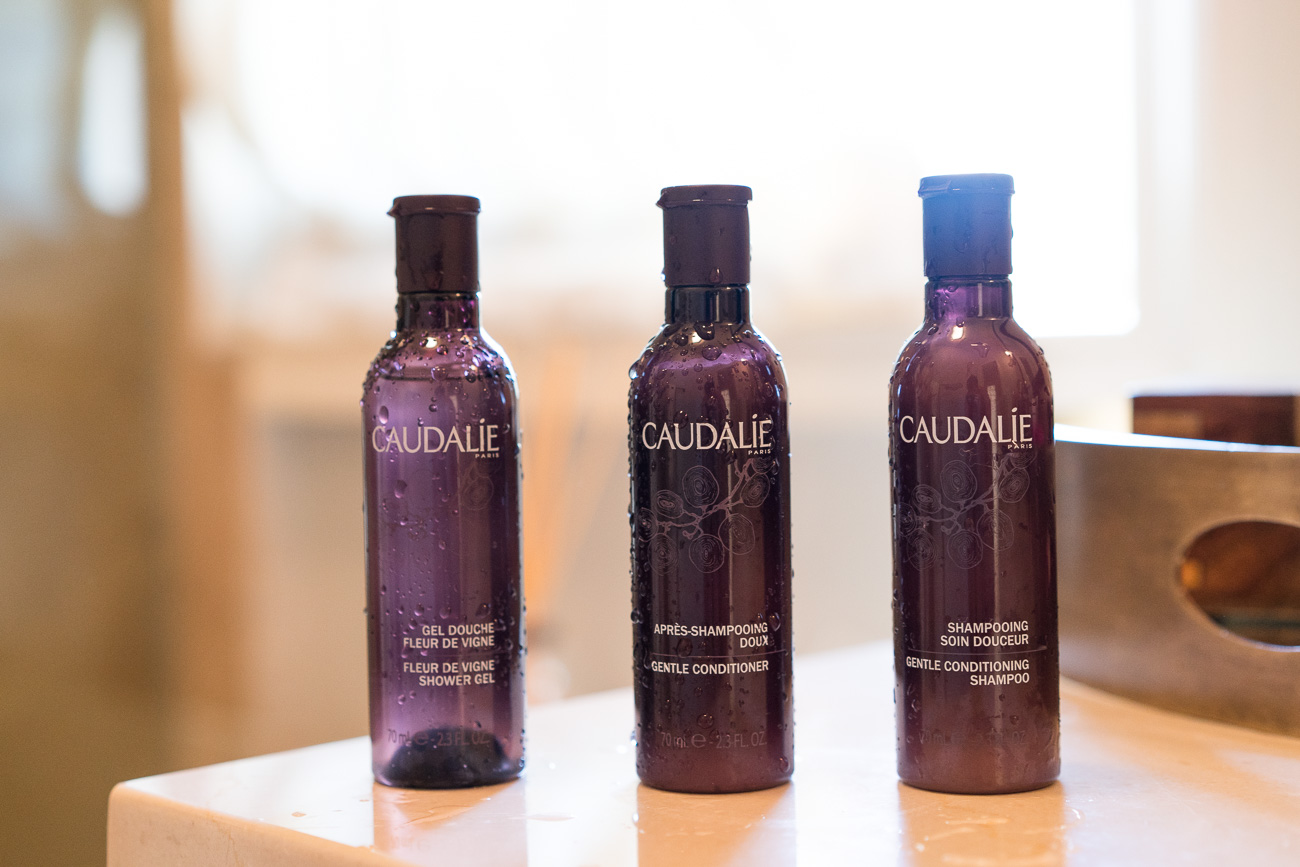Caudalie bath shower beauty products Kenwood Inn and Spa Sonoma, CA wine country stay angela lanter hello gorgeous