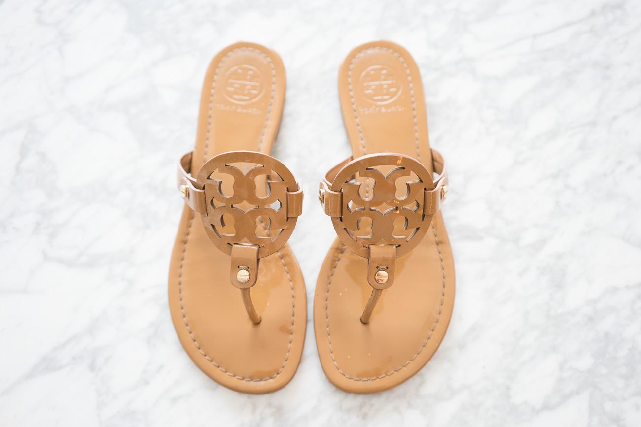 Tory Burch Miller Sandals ShopBop Sale April 2017 Angela Lanter Hello Gorgeous