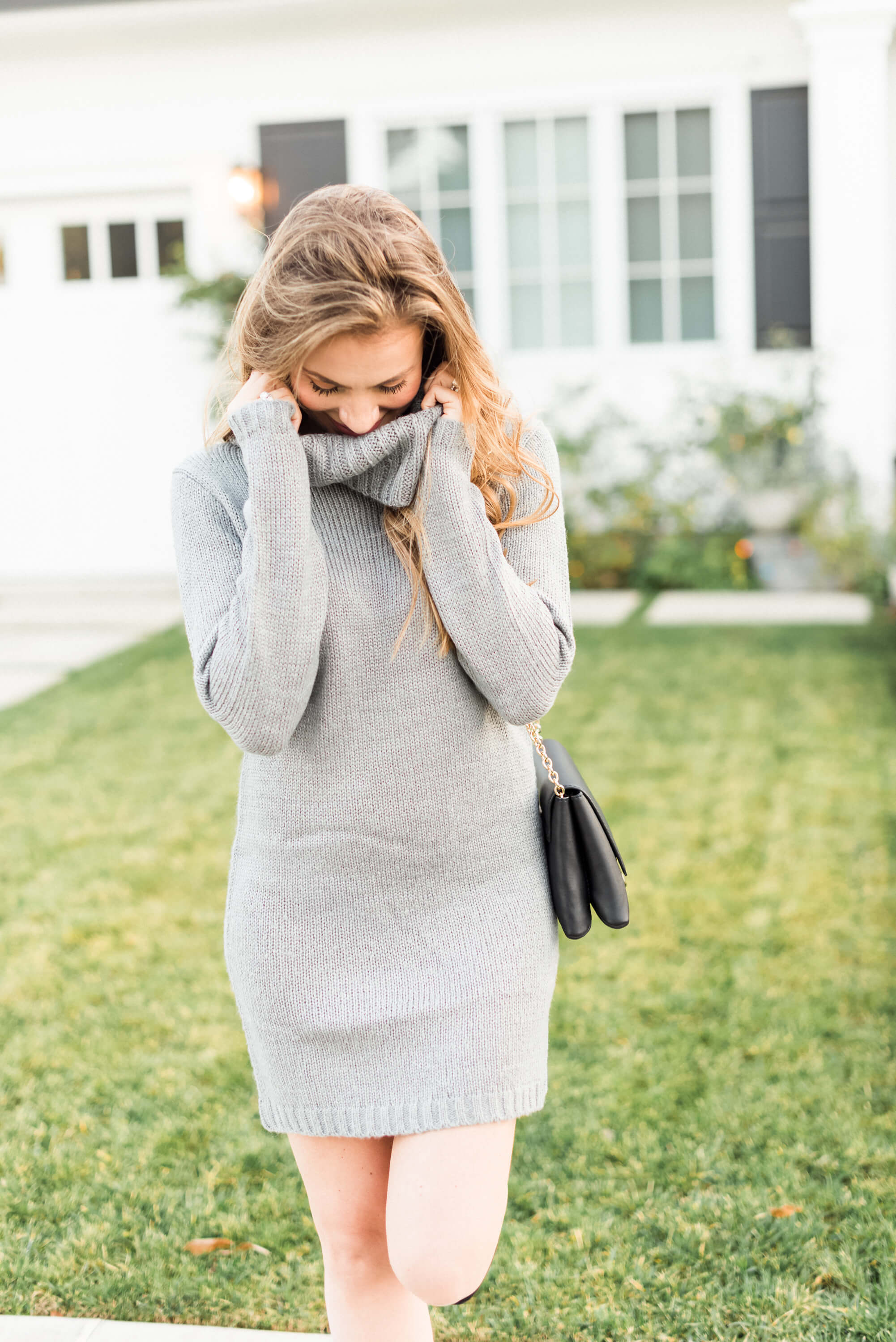 nordstrom sweater dress angela lanter hello gorgeous