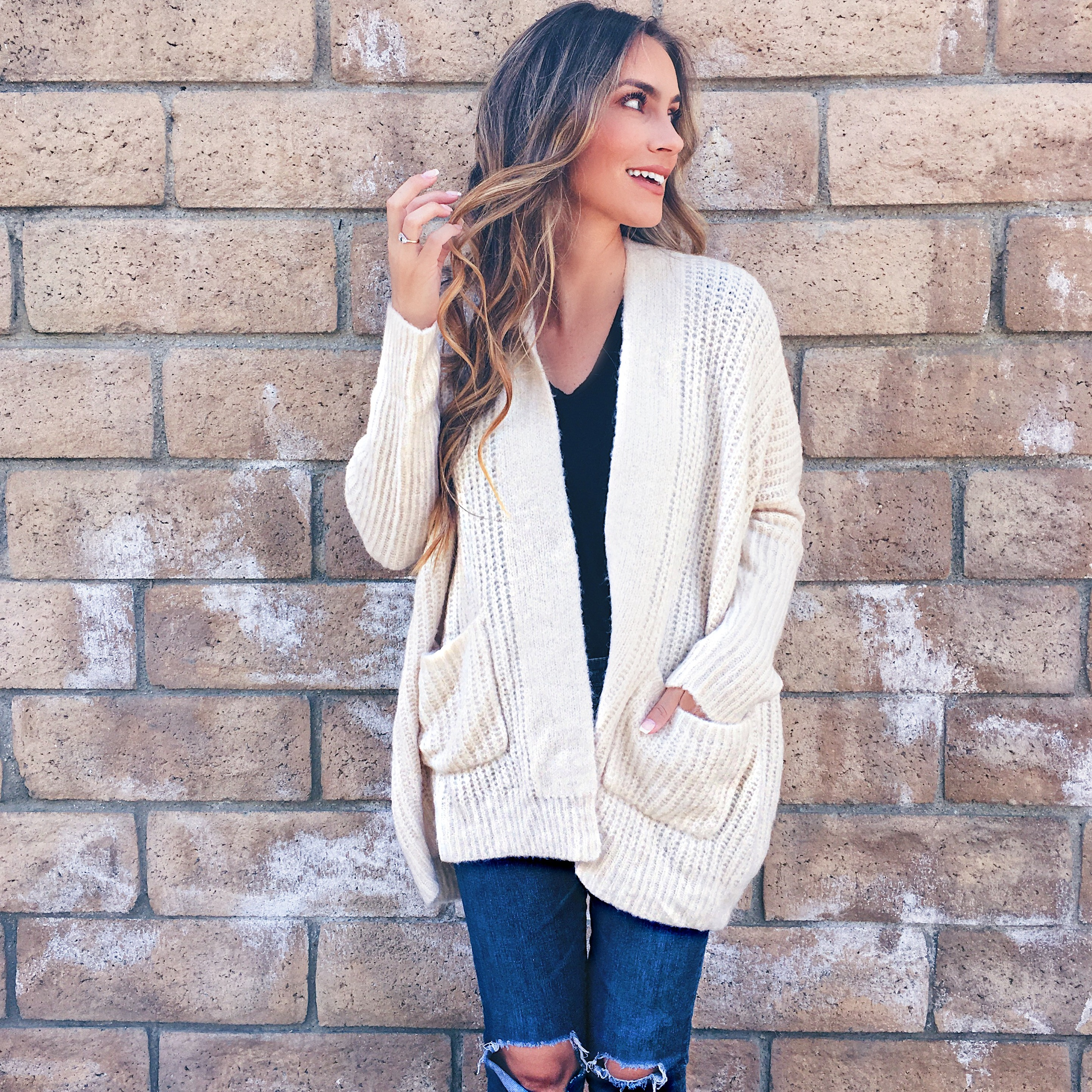 Nordstrom anniversary sale 2017 dramers by debut cardigan outfit angela lanter hello gorgeous