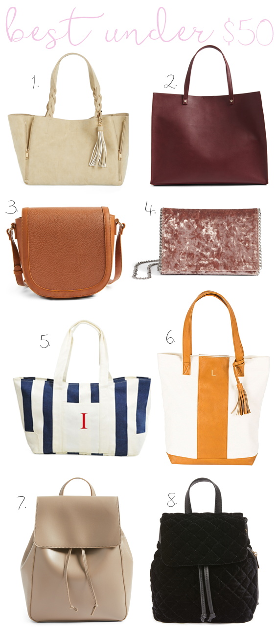 Nordstrom anniversary sale best handbags under $50 angela lanter hello gorgeous